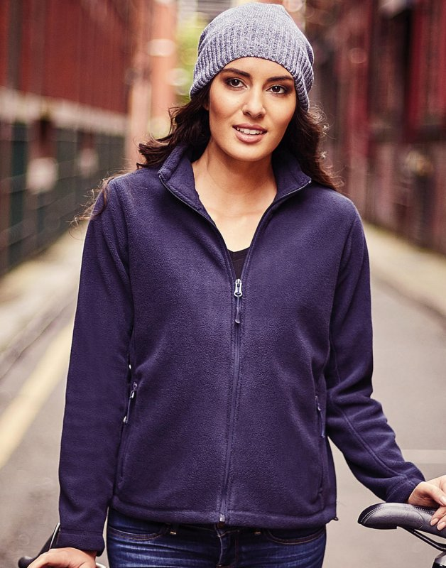 Rusell LADIES' FULL ZIP OUTDOOR FLEECE