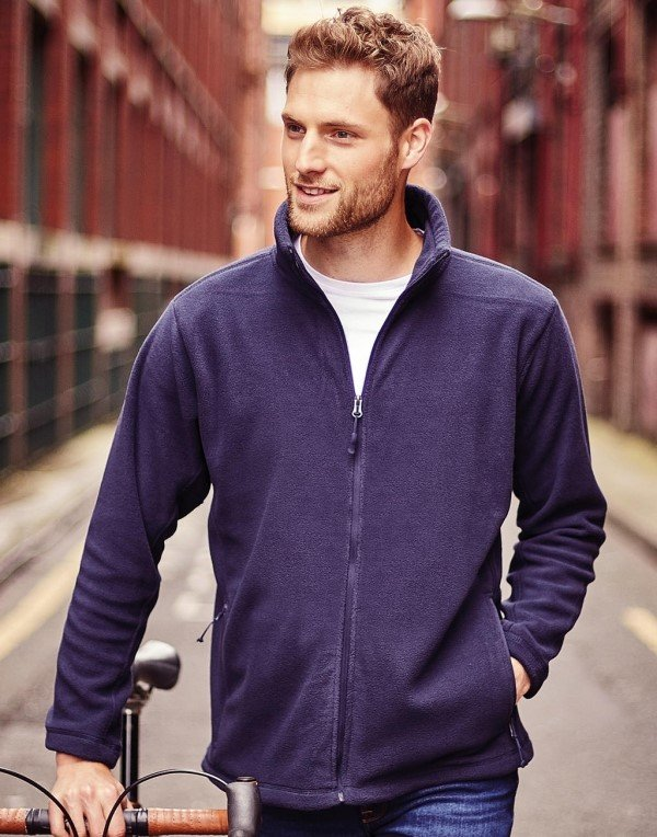 Rusell MEN FULL ZIP OUTDOOR FLEECE