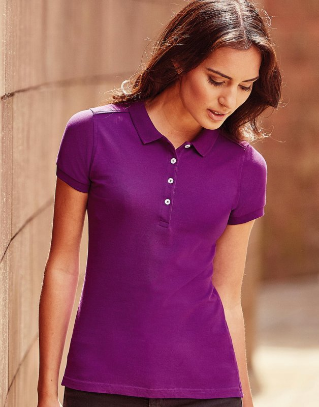 STRETCH Damen Poloshirt