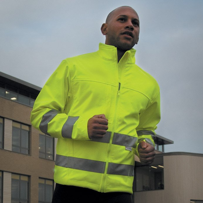 High-Viz Soft Shell Jacket