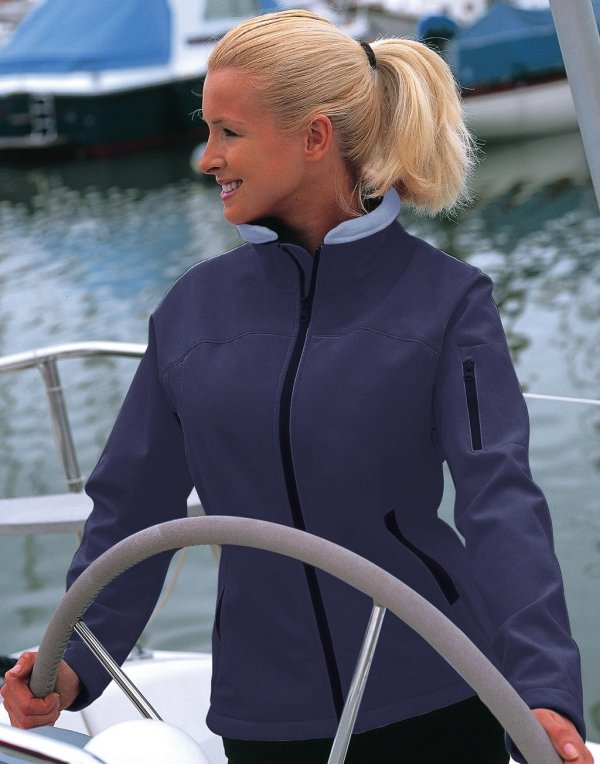 Ladies` Softshell Jacket, Result