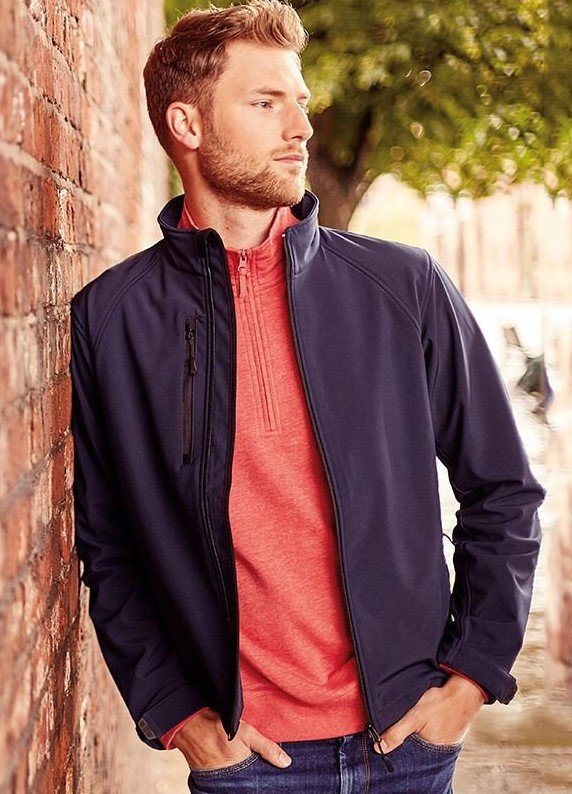 Russell MEN SOFTSHELL JACKET